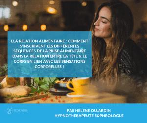 hypnothérapie et travail sur la relation alimentaire